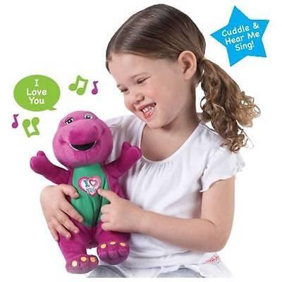 "New Barney I Love You Musical 10"" Barney Soft Plush Toy"