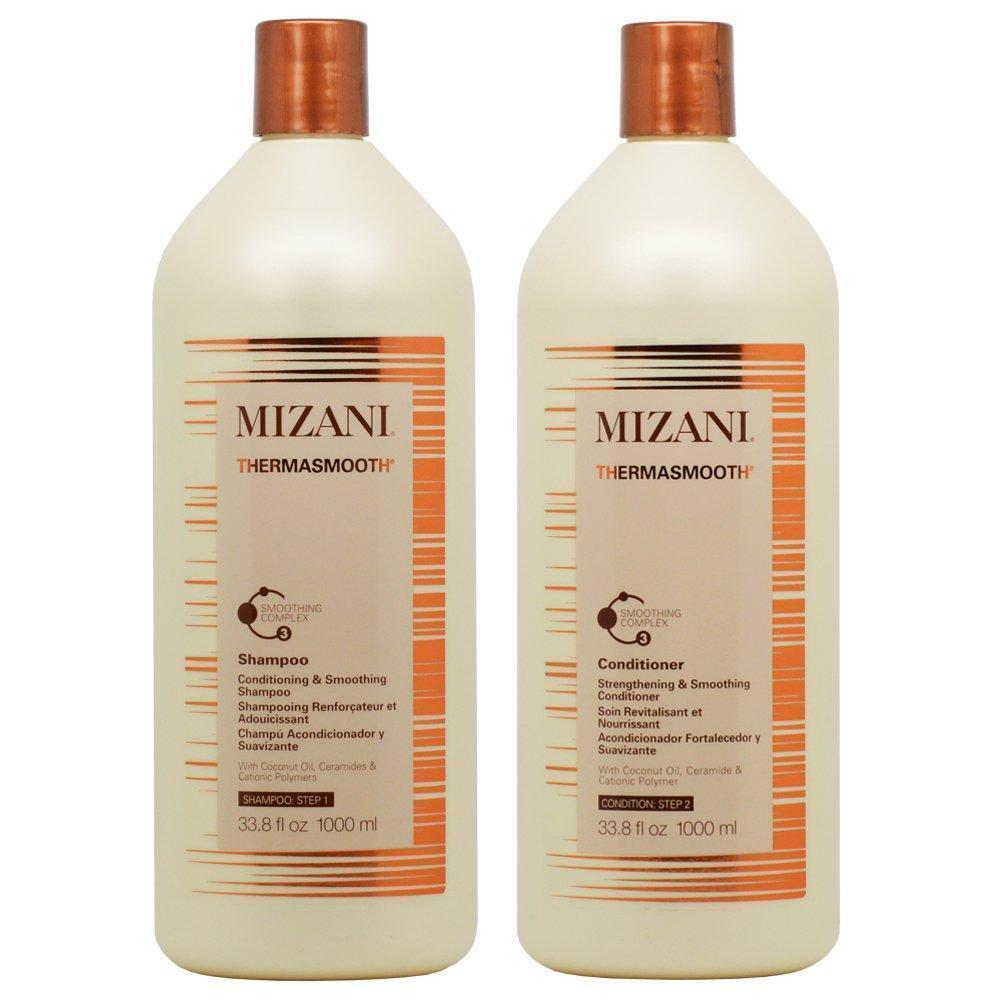 Mizani Thermasmooth Shampoo and Conditioner 33.8oz SET Hair Care & Styling