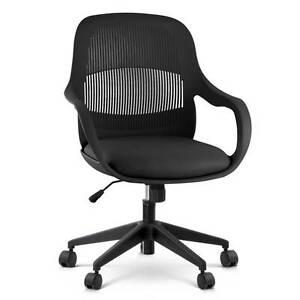 Modern Office Desk Chair  - Black North Melbourne Melbourne City Preview