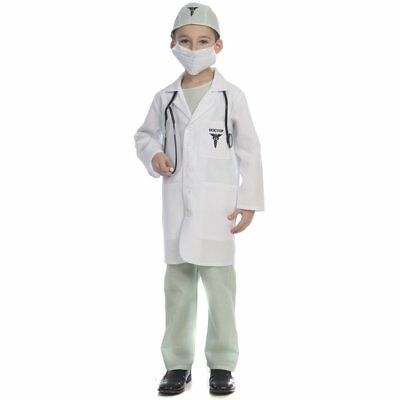 Dress Up America Deluxe Doctor Toddler Child Costume](Toddler Doctor Costume)