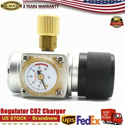 Co2 Keg Regulator Charger Kit Gas Injector Draft Beer Brew Homebrew Tr 21 4