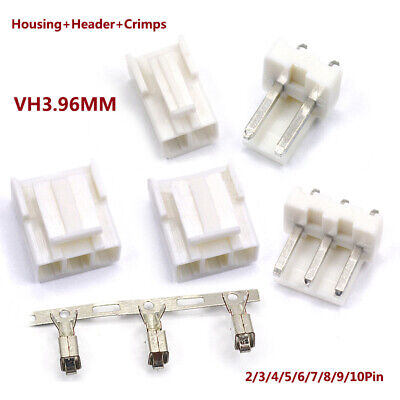 Vh3.96mm Housing Header Crimps Connector Sets Jst Pcb 2 Pin3 Pin410pin