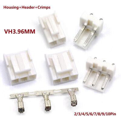 Vh3.96mm Housing Header Crimps Connector Sets Jst Pcb 2 Pin3 Pin410pin