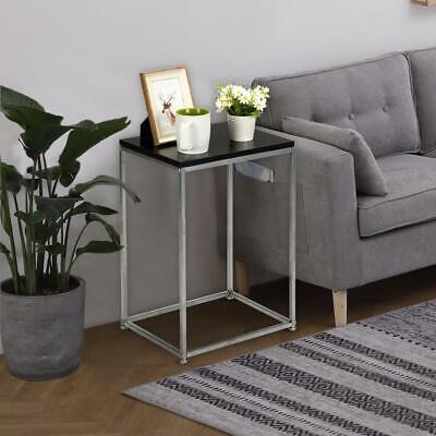 Square shaped Side Sofa Snack Table Coffee Tray End Table Living Room Furniture