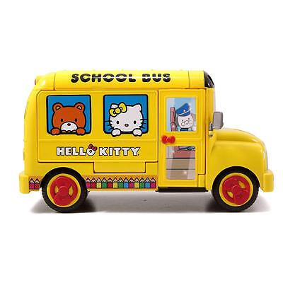 Hello Kitty School Bus (New Jada  Hello Kitty 40th Anniversary School Bus Playset Fantasy Child's)