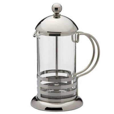 3 ,7 & 9 cup Stainless Steel Glass Cafeteria French Filter Coffee Press Plunger 7 Cup French Press