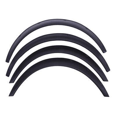 "4Pcs 3.5"" 90mm Universal Flexible Car Body Fenders Flares Car Body Kit Black"