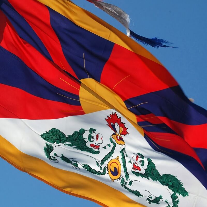 TIBET flag new 3x5 ft TIBETAN DALAI LAMA better quality usa seller