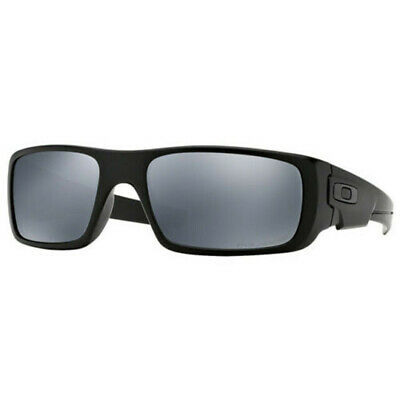 Authentic Oakley Crankshaft Sunglasses Black Iridium Polarized Lens OO9239-06