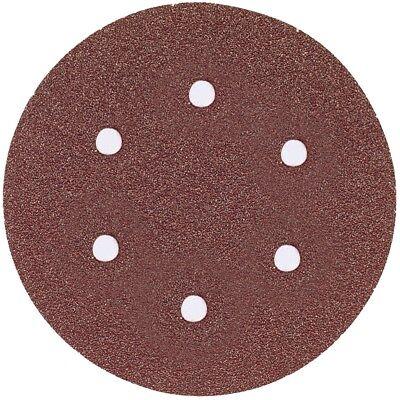 Bosch Sr6r320 6 320 Grit 6-hole Hook Loop Sanding Discs 5 Pk