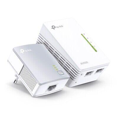 TP-LINK TL-WPA4220 KIT 2er Set AV600 Powerline WLAN Wifi 300Mbps Extensor 2xLAN
