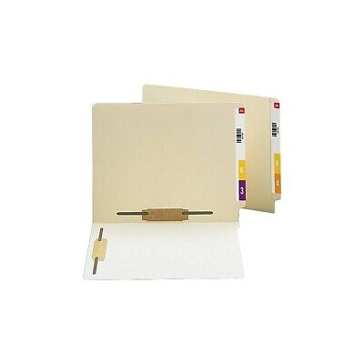 Staples End Tab Fastener Folders With 2 Reinforced Tabs Letter Manila 50bx