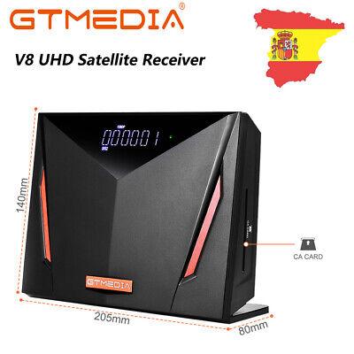 GTMEDIA 4K Receptor de satélite Combo Multistream H.265 HDMI, LAN, Lector CA,PVR