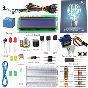 SunFounder-Lab-Project-1602-LCD-Piezo-Buzzer-Kit-For-Arduino-UNO-R3-Mega-Nano