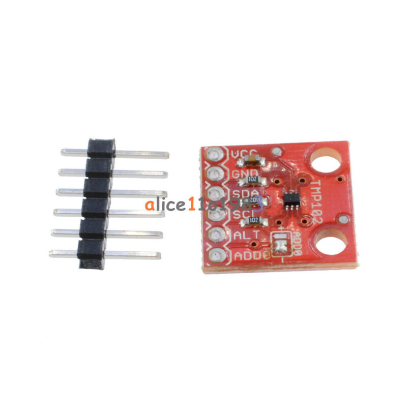 High Precision 1.5cmx1.5cm TMP102 Digital Temperature Sensor Breakout