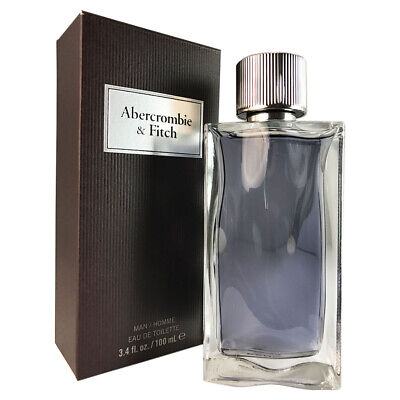 First Instinct by Abercrombie and Fitch for Men 3.4 oz Eau De Toilette Spray