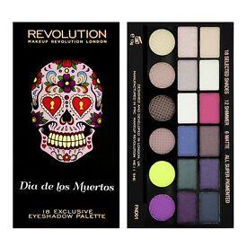 Makeup Revolution dia de los muertos eyeshadow palette x2