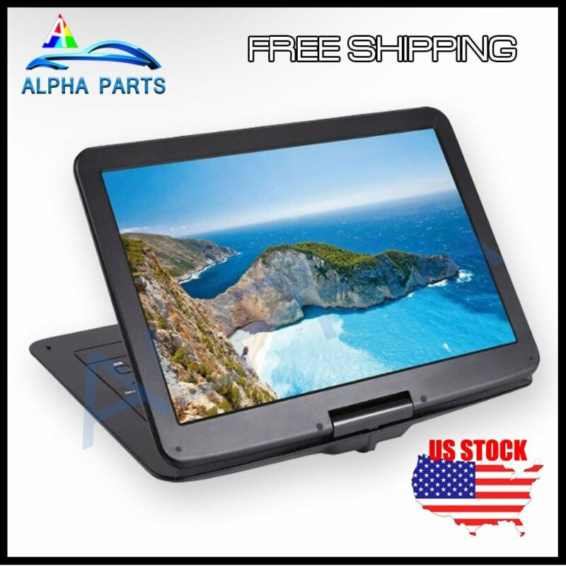 """TaoTronics 15.6"""" Portable Rechargeable DVD Player with Swivel Screen - TT-EE010"""