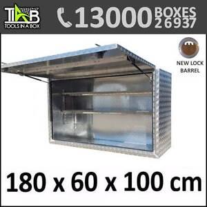 Aluminium Truck Square Toolbox Ute Trailer Storage Box 1861 Melbourne CBD Melbourne City Preview