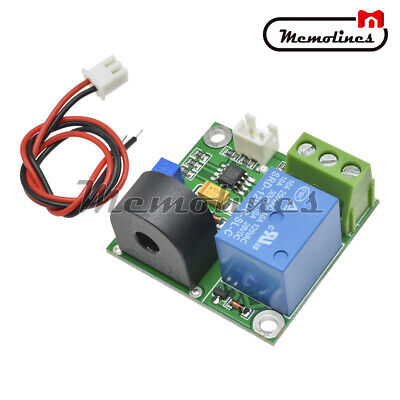 Working Dc12v 0-5a Ac Current Sensor Detection Switch Module Output