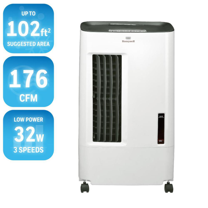Honeywell Portable Evaporative Swamp Cooler Indoor Oscillati