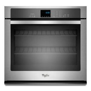 Whirlpool WOS51EC0AS 5.0 Cu Ft Single Wall Oven