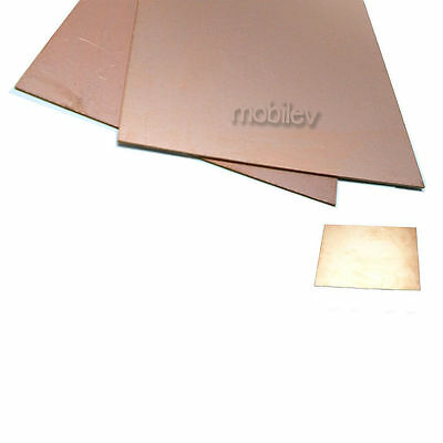 2 Copper Clad Laminate Circuit Boards Fr4 Pcb Double Side 150mmx200mm 15cmx20cm