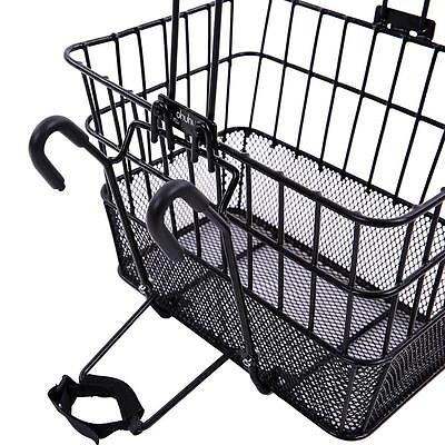 Rust-Proof Quick Release Front Handlebar Bicycle Lift Off Basket / Wire
