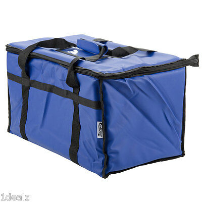 Blue Industrial Nylon Insulated Food Delivery Bag Chafer Pan Carrier $10 Rebate Blue Insulated Food Carrier