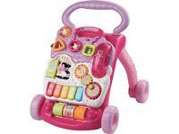 Vetch baby walker pink