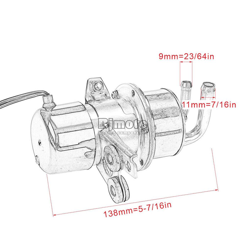 Fuel pump For Yamaha YZF R1 1998-2001 R6 1999-2002 VMX12 V