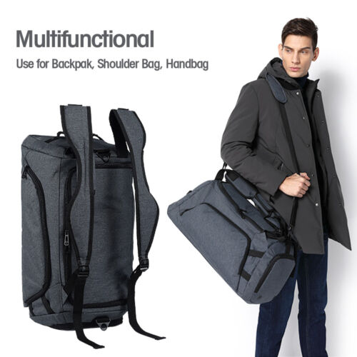 Men's Travel Backpack Large Shoes Compartment Handbag Waterp