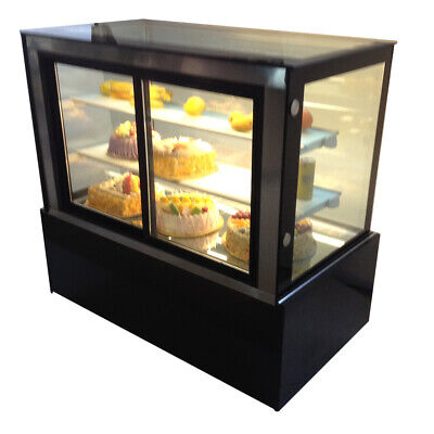 220v Refrigerated Bakery Showcase Display Cabinet Front Door Cake Display Case