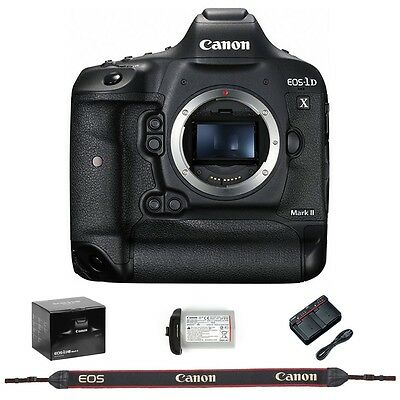 Canon EOS 1D X Mark II ( 1DX mk II ) DSLR Camera Body