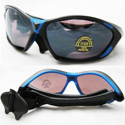 Kitesurfing Kiteboarding Men Sunglasses Lenses Water Sports UV400 Fashion Blue