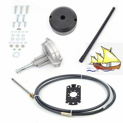 Boat Rotary Steering System Outboard Kit 12 Feet Marine With 12