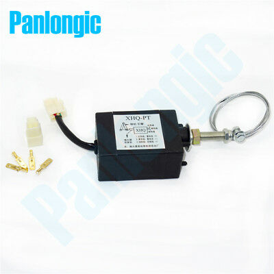 12v24v Power Onoff Pull Type Diesel Engine Parts Stop Solenoid For Generator