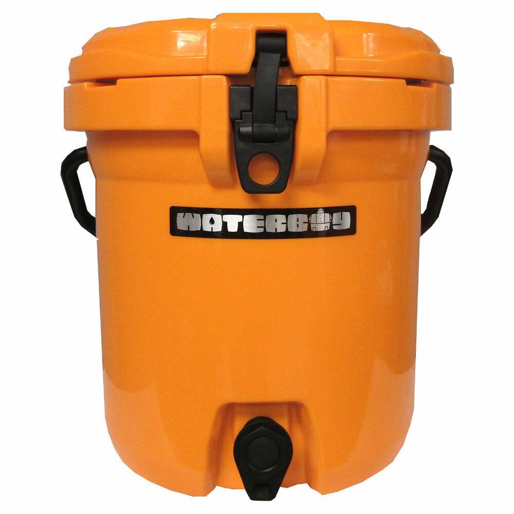 Fatboy 5 Gallon Waterboy Water Jug Cooler Orange