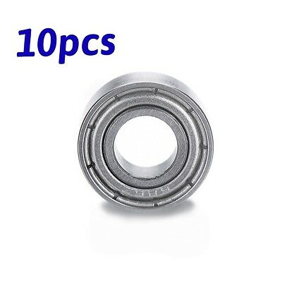 10pcs 6x13x5mm Mini Shielded Deep Groove Miniature Ball Bearings