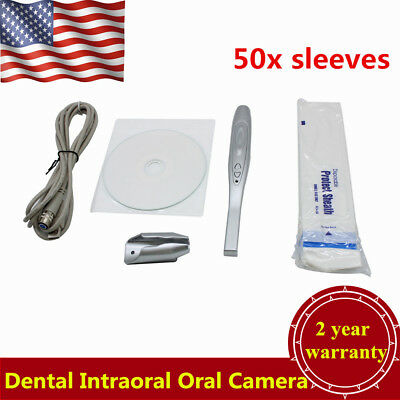 Intraoral Oral Dental Camera Usb Pro Imaging System Md740 50 Sleeves Usa Stock