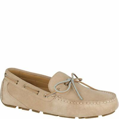 Sperry Top-Sider Gold Cup Harpswell 1-Eye Suede Driver Men Sand