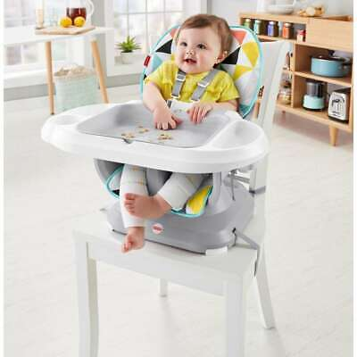 FREE SHIPPING Fisher-Price SpaceSaver Adjustable High Chair, Windmill