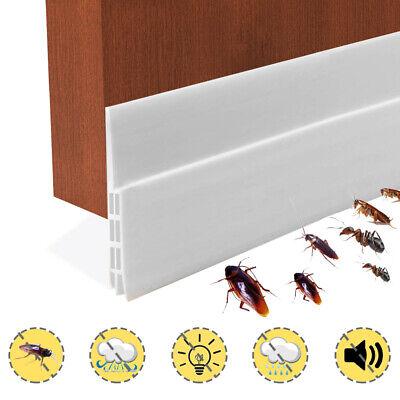 Self-adhesive Door Draft Blocker Seal Weather Stripping Under Door Sweep Bottom for sale  USA