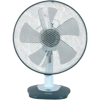 Optimus F1212S Fan 12Inch Oscillating Table 3 Speed Energy