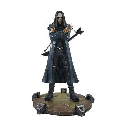 Nemesis Now Heavy Metal Skelett Halloween Gothic Skull Figur Sammlerfigur Deko ()