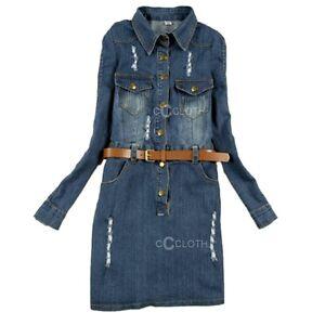 Collared button up shirt boho tunic womens jeans long for Women s collared button up shirts