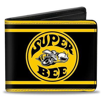 Leather style PU wallet Dodge Super Bee logo B Body Coronet SRT-8 - xmas gift!