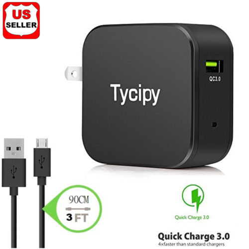 18W Fast Quick Charge QC 3.0 USB Wall Charger Adapter US Plug For iPhone/Samsung Cell Phone Accessories