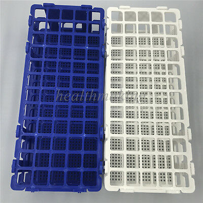 25pcs Rack Holder Storage Stand Lab 60 Holes Facility 3 Layers Plastic Test Tube