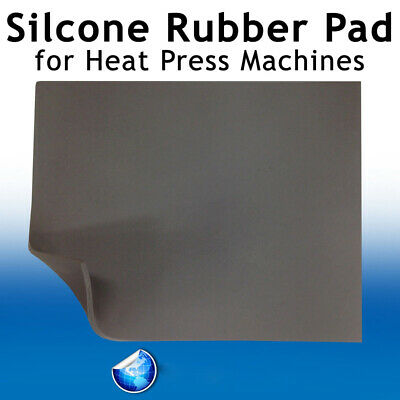 Pad Of Heat Press Machine Replacement High Temp 16x24 Gray 0.31 Silicone